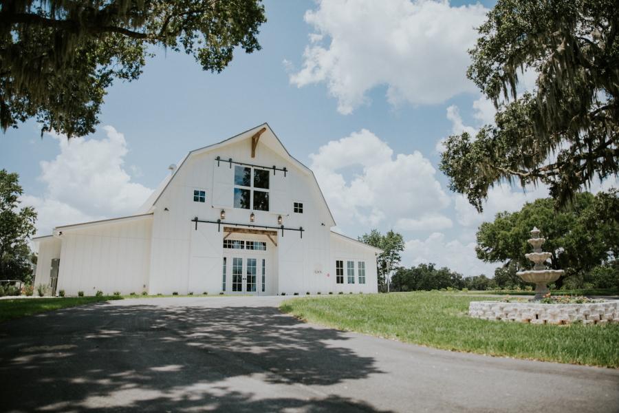 Protea Barn Wedding Venue in Ocala, Florida